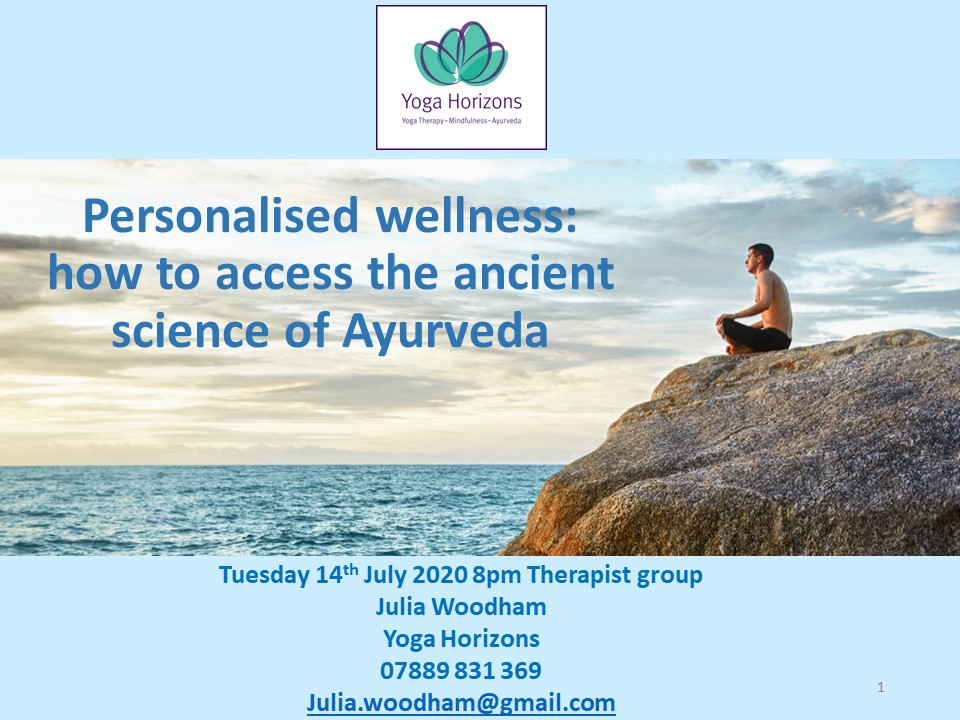 FREE Introduction to Ayurveda
